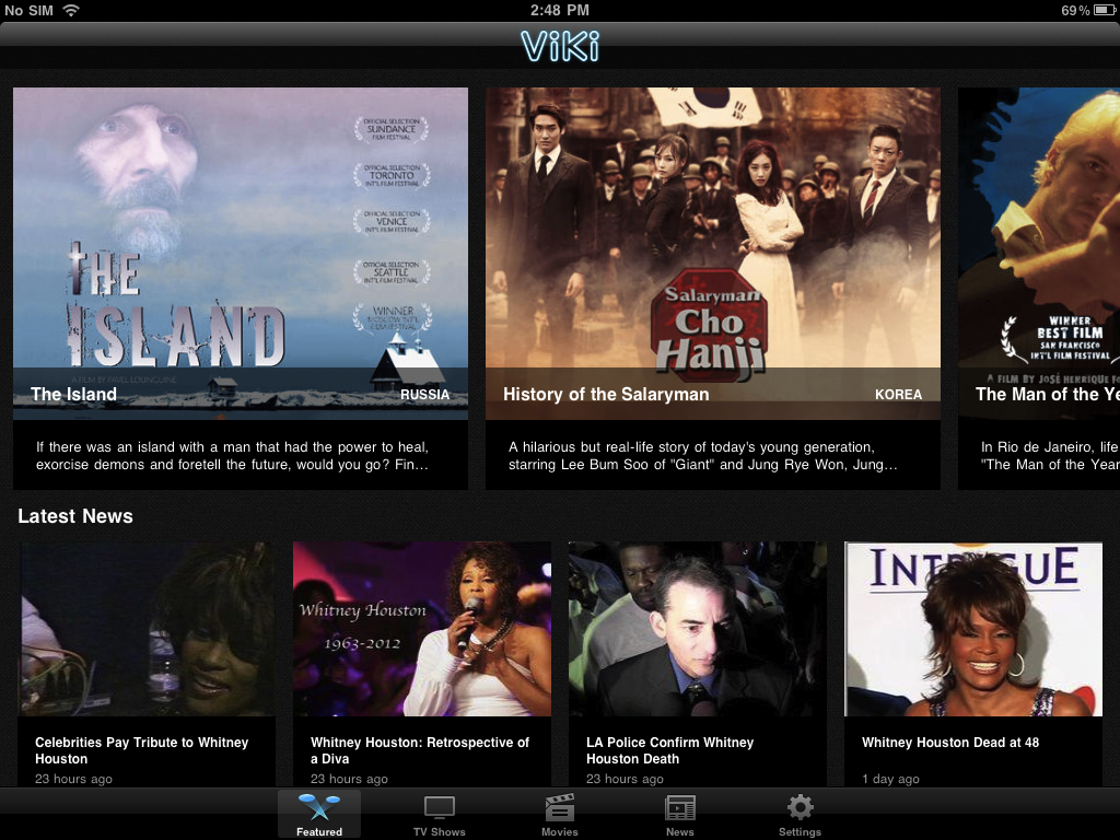 Viki is now available on iPad and Android