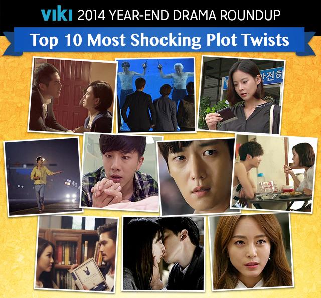 SPOILER] Top 10 Most Shocking Plot Twists of 2014! | Viki Now