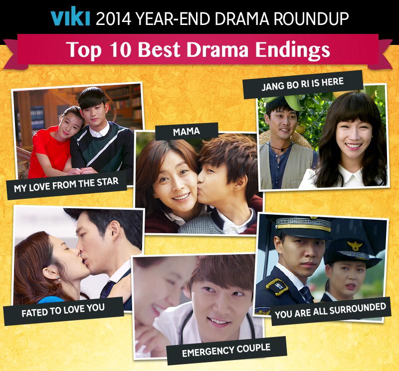 Top 10 Best Drama Endings of 2014! | Viki Now